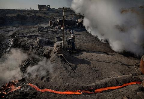 Подпольные сталелитейные заводы в Китае6