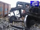 """Залізничники ліквідували наслідки сходу 9 порожніх вантажних вагонів по ст. """"Київ-Волинський"""""""