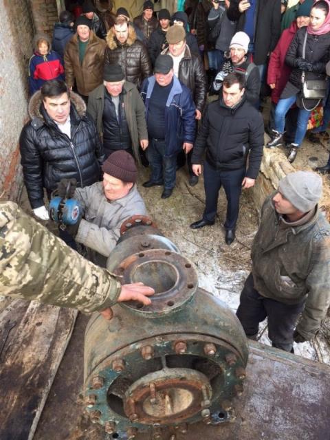 Саакашвілі на Вінничині напав на КамАЗ з металобрухтом