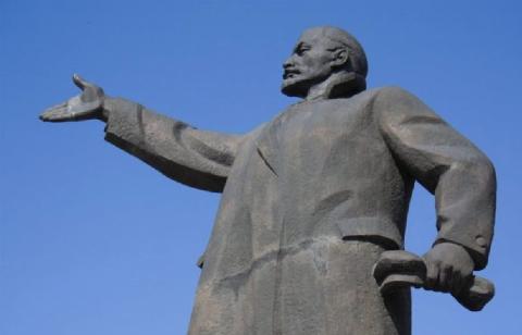 У Чопі бронзовий Ленін пішов з молотка