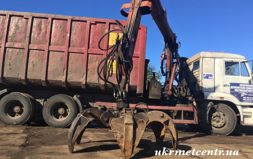 Вивіз металобрухту - затребувана послуга для підприємств і приватних осіб