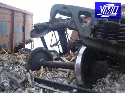 Залізничники ліквідували наслідки сходу 9 порожніх вантажних вагонів по ст.